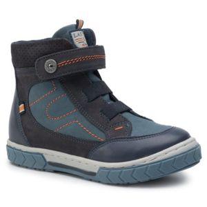 Šněrovací obuv Lasocki Kids CI12-COKER-01 Přírodní kůže - nubuk,Přírodní kůže - lícová