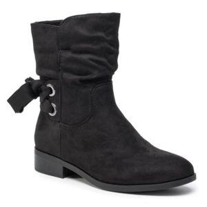 Kotníkové boty Jenny Fairy WS1627-5 Látka/-Látka
