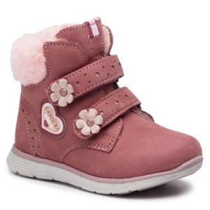 Šněrovací obuv Lasocki Kids CI12-BIPPER-01 Přírodní kůže - nubuk