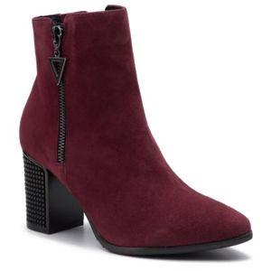 Kotníkové boty Lasocki 70600-02 Přírodní kůže (useň) - Semiš