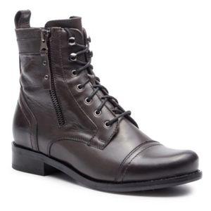 Šněrovací obuv Lasocki 70174-20 Přírodní kůže (useň) - Lícová