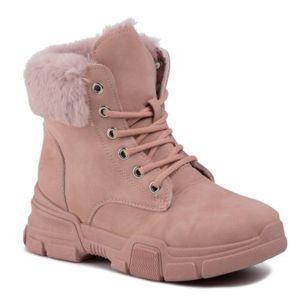 Šněrovací obuv Jenny Fairy WSLA07-03 Ekologická kůže /-Ekologická kůže