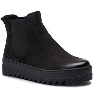 Kotníkové boty Lasocki WI23-TURI-11 Přírodní kůže - nubuk,Pravá kůže - lesklá kůže,Přírodní kůže - semiš,Přírodní kůže - lícová