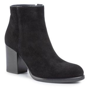Kotníkové boty Lasocki 71222-01 Přírodní kůže - semiš