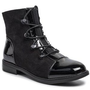 Šněrovací obuv Jenny Fairy WS2666-02 Textilní,Ekologická kůže