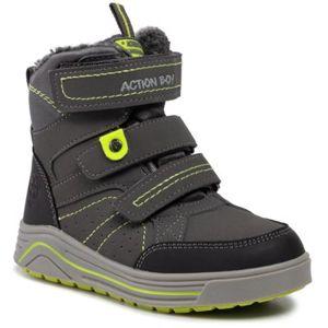 Šněrovací obuv Action Boy CP40-7961J Ekologická kůže /-Ekologická kůže