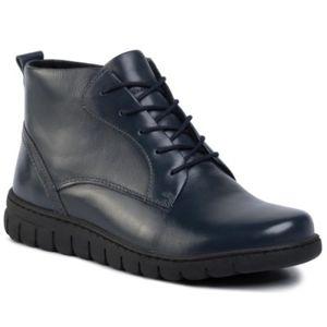 Šněrovací obuv GO SOFT WI23-GHANA-02 Přírodní kůže - lícová