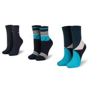 Ponožky Tom Tailor 93114 r. 23/26 Elastan,Polyamid,Bavlna
