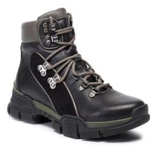 Šněrovací obuv Lasocki RST-KUGA-01 Přírodní kůže - semiš,Přírodní kůže - lícová