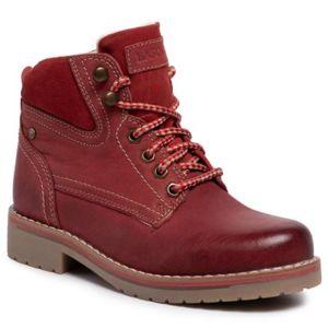 Šněrovací obuv Lasocki WI21-218134 Přírodní kůže - semiš,Přírodní kůže - lícová