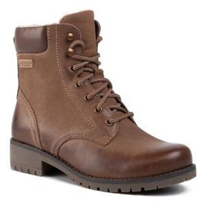 Šněrovací obuv Lasocki WI20-SYRENA-04 Přírodní kůže (useň) - Nubuk