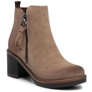 Kotníkové boty Clara Barson WS2987-02 Textilní
