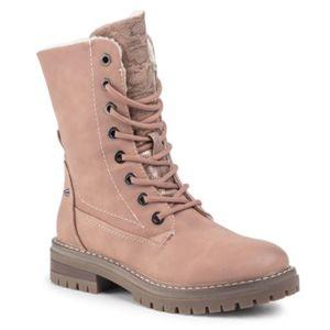 Šněrovací obuv Jenny Fairy WS2927-03 Ekologická kůže