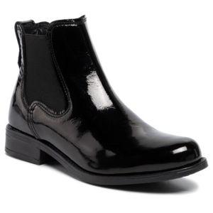 Kotníkové boty Lasocki OCE-DESA-12 Přírodní kůže - lakovaná