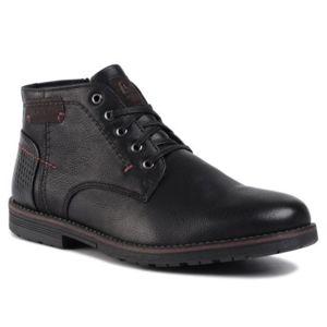 Šněrovací obuv Lanetti MBS-ORKAN-02 Ekologická kůže