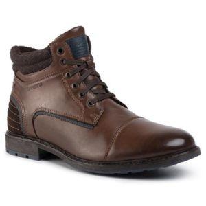 Šněrovací obuv Lanetti MBS-IMOLA-01 Textilní,Ekologická kůže