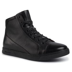 Šněrovací obuv Gino Rossi MI08-C640-632-02 Přírodní kůže - lícová