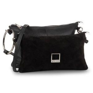Dámské kabelky Gino Rossi XC4160 Semiš,Přírodní kůže - Lícová