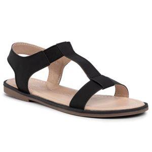 Sandály Nelli Blu CS166-3 Textilní materiál,Ekologická kůže