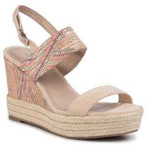 Sandály Jenny Fairy LS4963-12A Velice kvalitní materiál,Textilní materiál