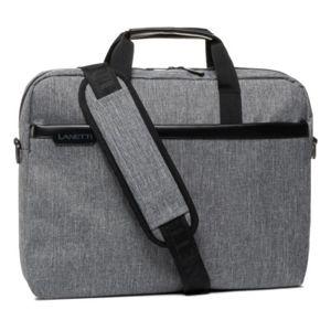 Pánské tašky Lanetti BMM-S-019-00-03 Textilní materiál