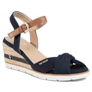 Sandály Tom Tailor 809040300 Textilní,Ekologická kůže