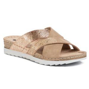 Pantofle INBLU OF356X01 Textilní,Ekologická kůže