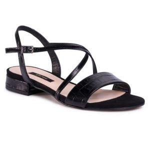 Sandály Gino Rossi A45160 Přírodní kůže - lícová