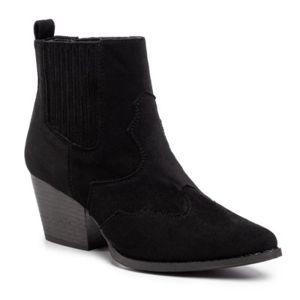 Kotníkové boty DeeZee WS300701-01 Látka/-Látka
