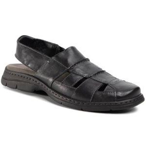 Sandály GO SOFT MI20-BONDY-01 Přírodní kůže - lícová