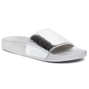 Bazénové pantofle Bassano WSK0328-01 Ekologická kůže