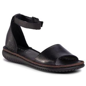 Sandály Lasocki ARC-2251-02 Přírodní kůže (useň) - Lícová