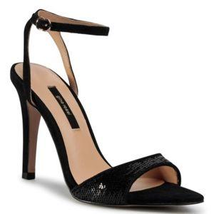 Sandály Gino Rossi V227L-153-1 Přírodní kůže - semiš