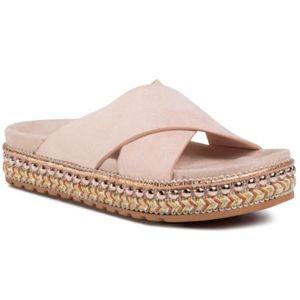Pantofle DeeZee WSHT2019-04 Textilní