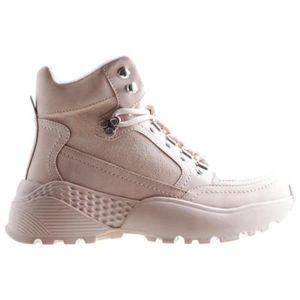 Šněrovací obuv Jenny Fairy WSF832-01 Ekologická kůže /-Ekologická kůže