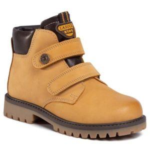 Šněrovací obuv Lasocki Kids CI12-TREMP-02 Přírodní kůže (useň) - Nubuk