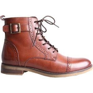 Šněrovací obuv Lasocki WI23-DALIA-07 Přírodní kůže - lícová