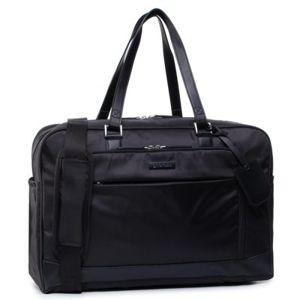Cestovní tašky Gino Rossi BGT-S-030-10-04 Přírodní kůže - Lícová,Textilní materiál