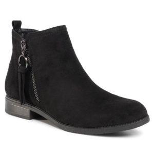 Kotníkové boty Jenny Fairy LS3523-23B Látka/-Látka