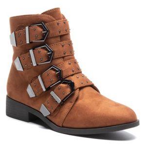 Kotníkové boty DeeZee WS99861-01 Textilní