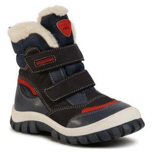 Šněrovací obuv Lasocki Kids SCI12-1797-24 Přírodní kůže (useň) - Nubuk