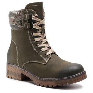 Šněrovací obuv Clara Barson WS5010-01 Ekologická kůže