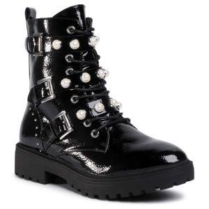 Šněrovací obuv DeeZee WS5017-05 Ekologická kůže