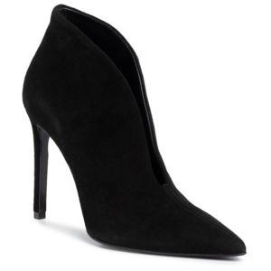 Kotníkové boty Gino Rossi Premium DFK232-MIYA Přírodní kůže (useň) - Semiš