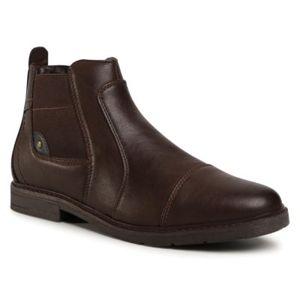 Kotníkové boty Lanetti MBS-VANGER-01 Ekologická kůže