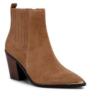 Kotníkové boty Gino Rossi 118AL6712-5V Přírodní kůže - lícová