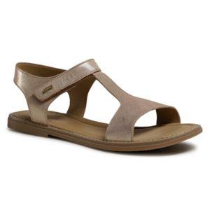 Sandály Lasocki Young CI12-3027-07 Přírodní kůže (useň) - Nubuk